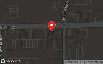 Map of 7311 West 10th Street in Indianapolis