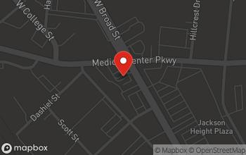 Map of 829 N.W. Broad Street in Murfreesboro
