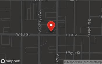 Map of 550 South Walnut Street in Bloomington