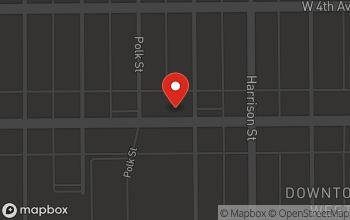 Map of 910 West 5th Avenue in Gary