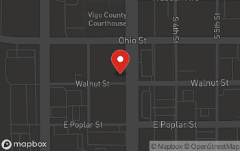 Map of 129 South 3rd Street in Terre Haute
