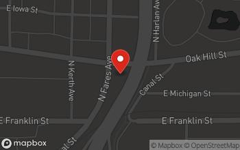 Map of 1201 East Virginia Street in Evansville