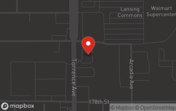 Map of 17701 S. Torrence Ave. in Lansing