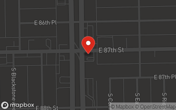 Map of 8705 S. Stony Island in Chicago