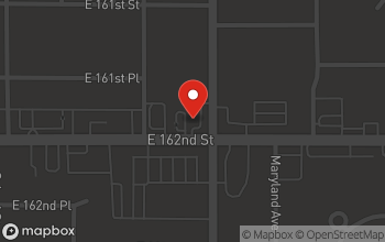 Map of 730 E. 162nd Street in South Holland