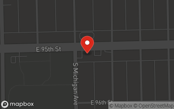 Map of 107 E 95th St in Chicago