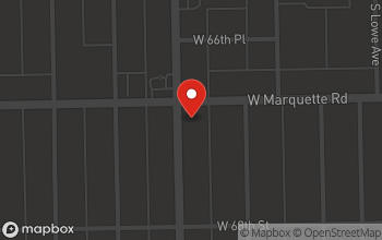 Map of 6705 Halsted St in Chicago