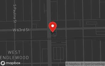 Map of 6301 Ashland Ave in Chicago