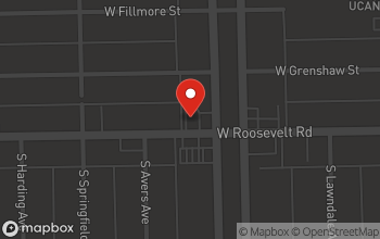 Map of 3808 W Roosevelt Rd in Chicago