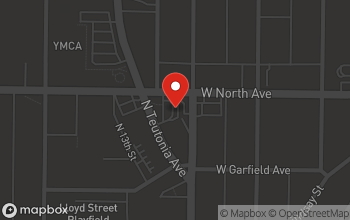 Map of 1205 W. North Avenue in Milwaukee