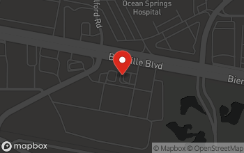 Map of 3154 Bienville Blvd. in Ocean Springs