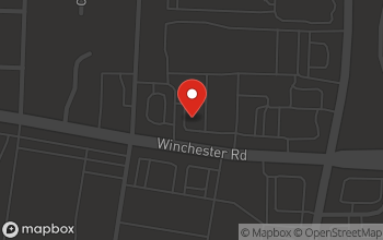 Map of 7938 Winchester Rd in Memphis