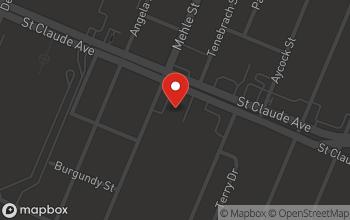 Map of 6700 St. Claude Avenue in Arabi