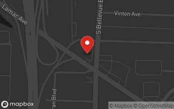 Map of 631 S. Bellevue in Memphis