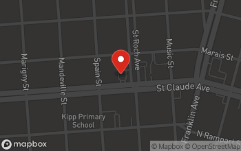 Map of 2371 St. Claude Avenue in New Orleans