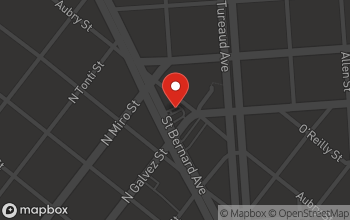 Map of 2135 St Bernard Avenue in New Orleans
