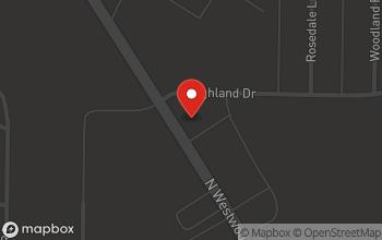 Map of 1324 N Westwood Blvd in Poplar Bluff