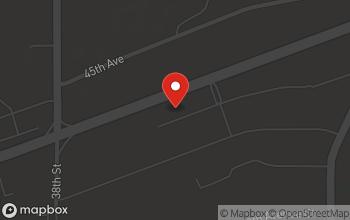 Map of 4010 Blackhawk Road in Rock Island