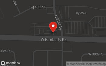Map of 2310 W. Kimberly Road in Davenport