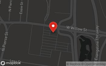 Map of 113 W. Willow Street in Lafayette