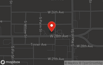 Map of 2301 West 28th Street in Pine Bluff