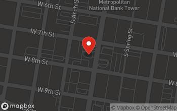 Map of 712 Broadway in Little Rock