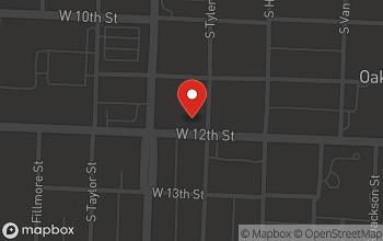 Map of 5400 West 12th Street in Little Rock