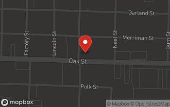 Map of 420 Oak Street in Conway