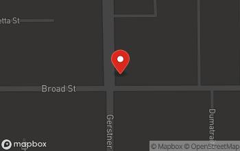 Map of 2601 Broad Street in Lake Charles