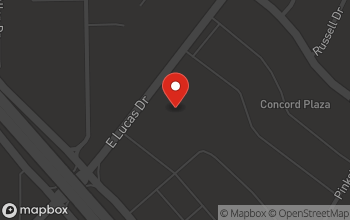 Map of 4215 E. Lucas Dr in Beaumont