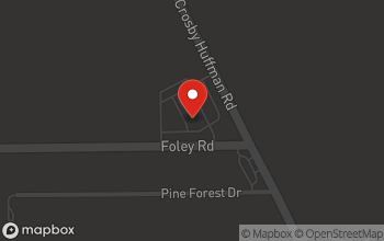 Map of 18703 FM 2100 Rd in Crosby