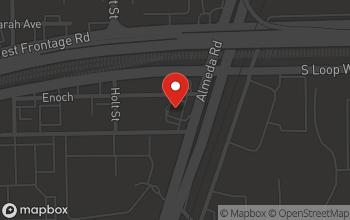 Map of 8610 Almeda Rd in Houston