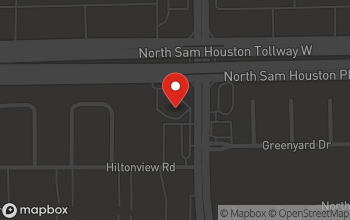 Map of 4919 N. Sam Houston Pkwy in Houston