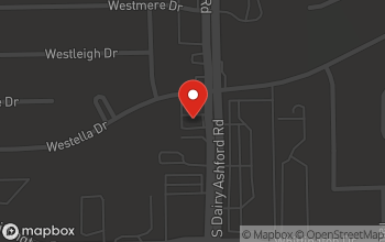 Map of 1806 S. Dairy Ashford Rd. in Houston