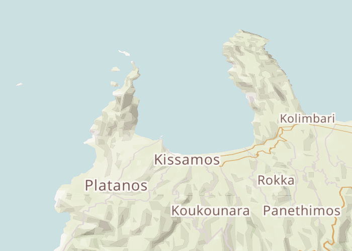 Mapbox Map of Kissamos