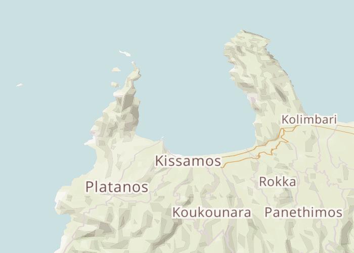 Mapbox Mappa di Kissamos