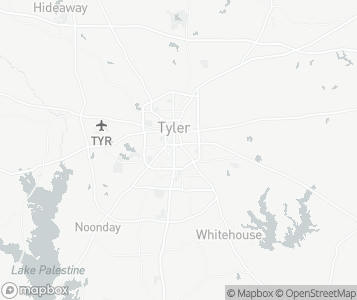 Map of Tyler.