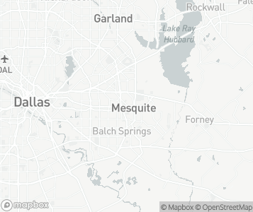 Map of Mesquite.