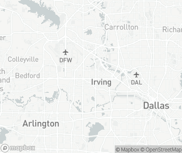 Map of Irving.
