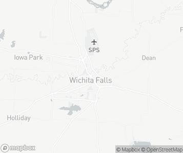 Map of Wichita Falls.