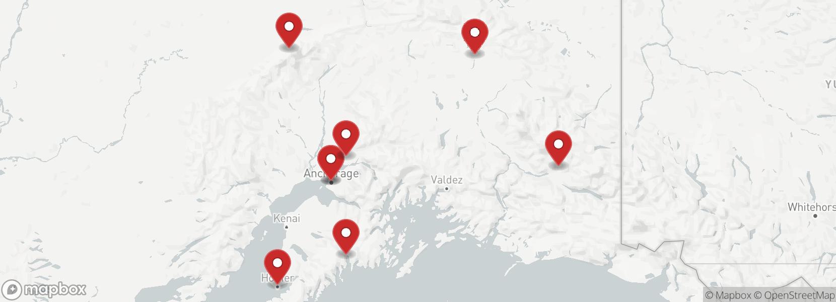 Itinerario Viaggio in moto Trail Alaska L'ultima frontiera