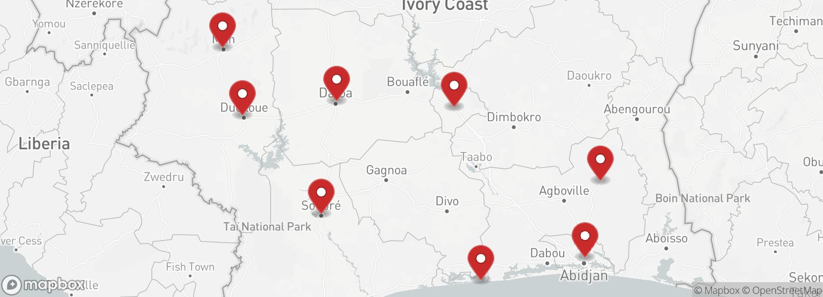 itinerari Motorcycle tour Ivory Coast Enduro