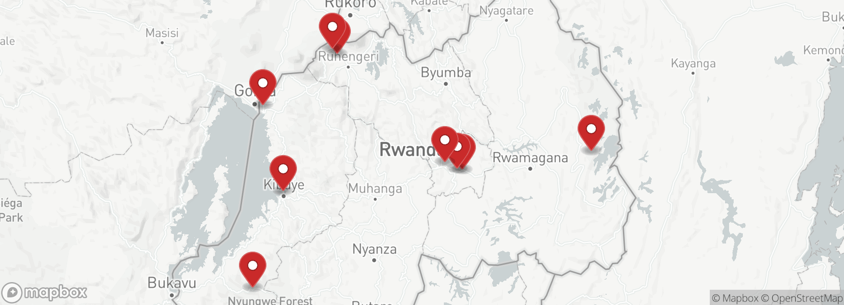 Itinerary Motorcycle Tour in Rwanda - ALL IN ONE