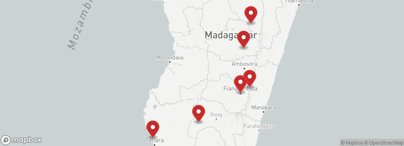 Itinerary Madagascar motorcycle tour on Royal Enfield