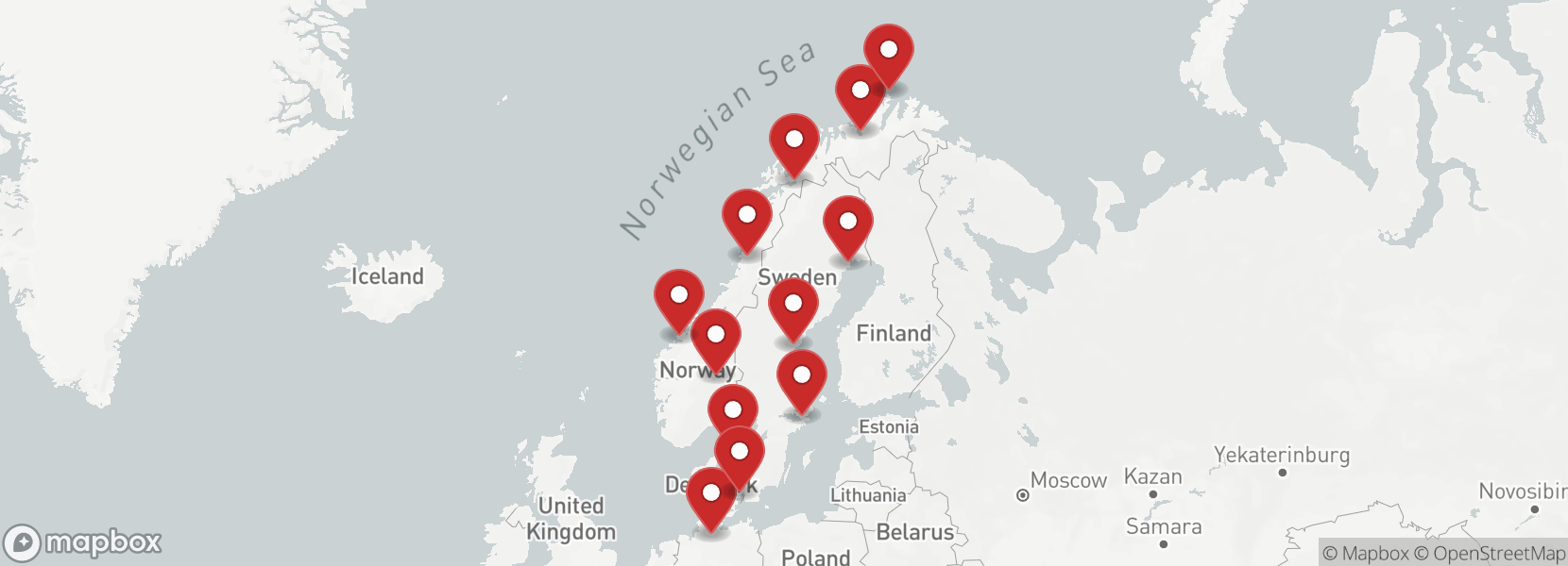 Itinerary Motorcycle tour North Cape