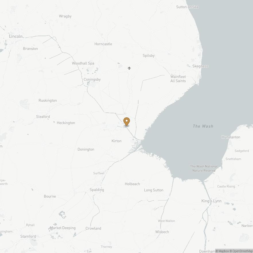 Map of Skirbeck, England