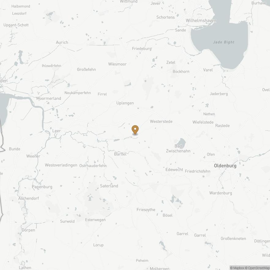 Map of Apen, Deutschland