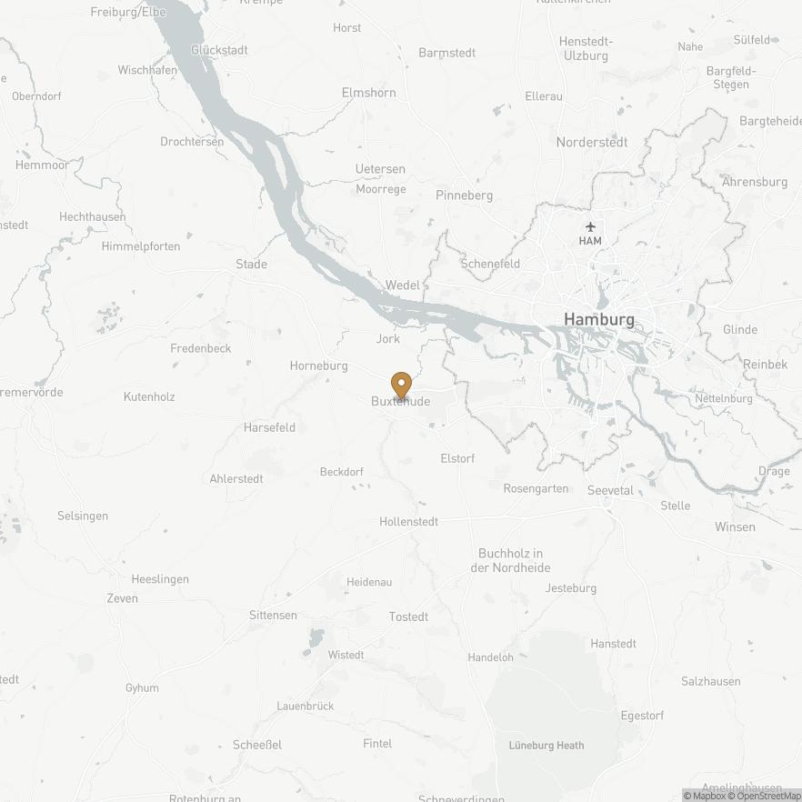 Map of Buxtehude, Deutschland