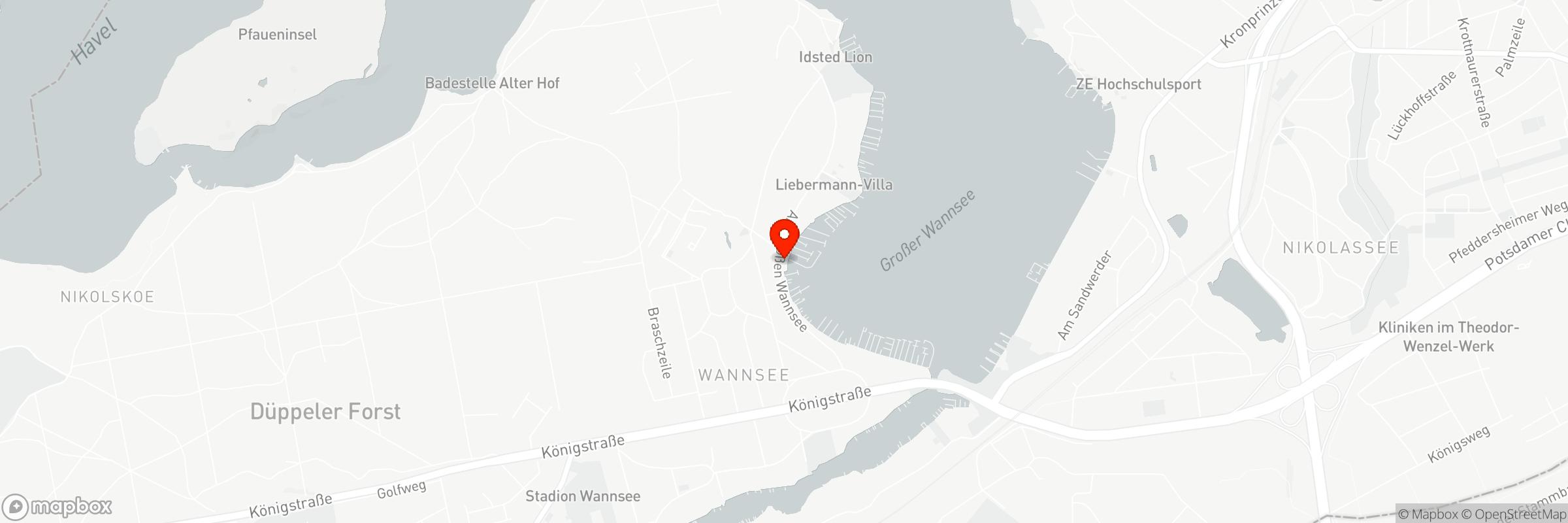 Mapbox Map of 13.16162,52.4257