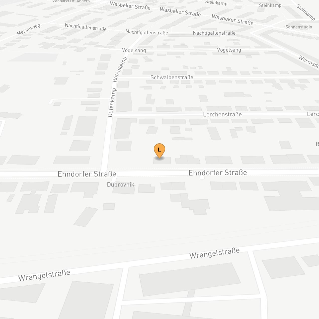 Mapbox Map of 9.971238411962984,54.0673460628511